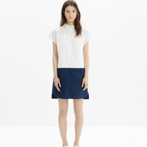 Madewell size M Vista Shirtdress in Colorblock